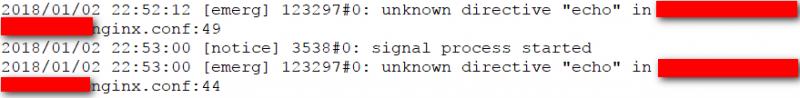"nginx出错unknown directive ""echo""的解决方法"