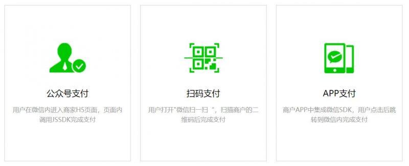 微信app支付