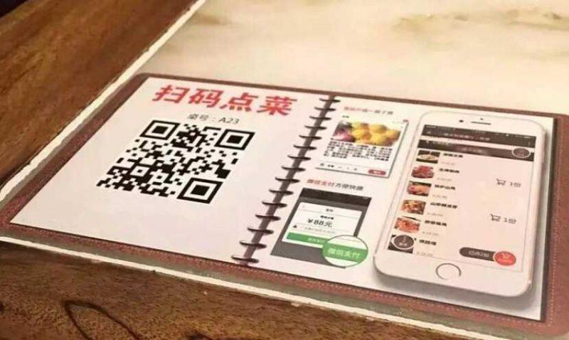 二维码扫码点餐3大类型,扫码点餐系统多少钱