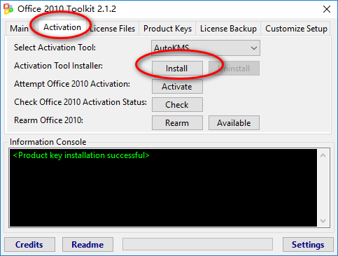 office 2010 toolkit使用方法
