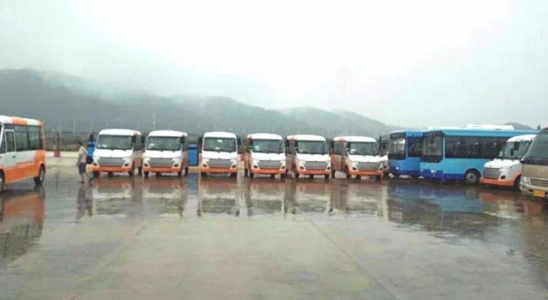 四川村村通公交车