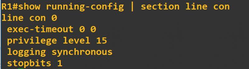 思科show命令从某行开始显示,cisco show包含某个关键词的内容,显示配置段