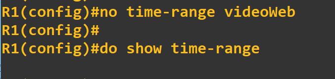 cisco删除time range,思科删除时间段time-range