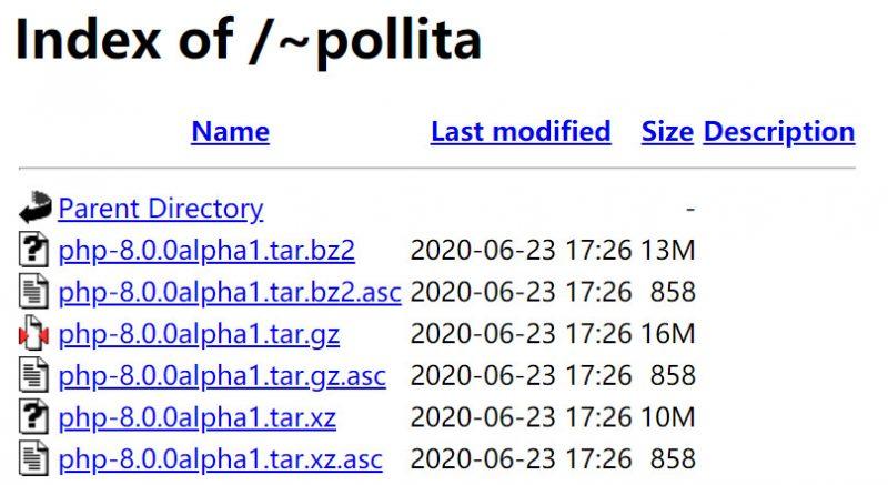 php8发布Alpha测试版,php8 Alpha新特性,下载php8 alpha最新版