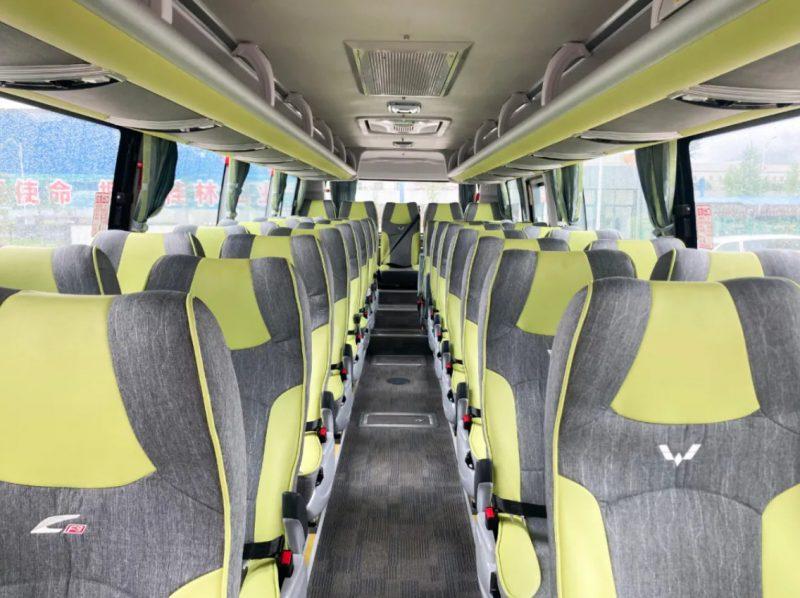 五菱慧巴F9客车舒适座椅