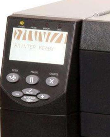 斑马打印机色带用尽怎么调,zm400打印机色带用尽报警,但还有一大半,怎么清除调整