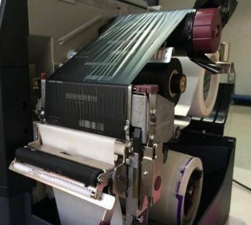 斑马打印机色带用尽错误清除调整