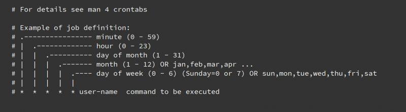 crontab每分钟,5,10分钟,每小时,每天零点,每周日0点,每月1号0点,每年1月1日执行脚本,linux shell定时任务